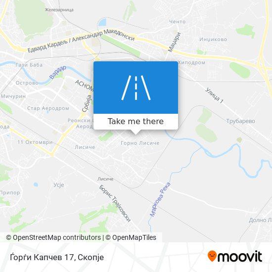Ѓорѓи Капчев 17 map