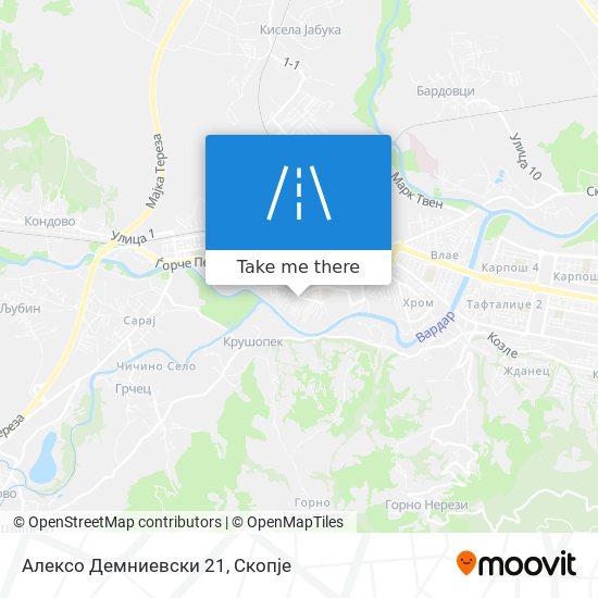 Алексо Демниевски 21 map