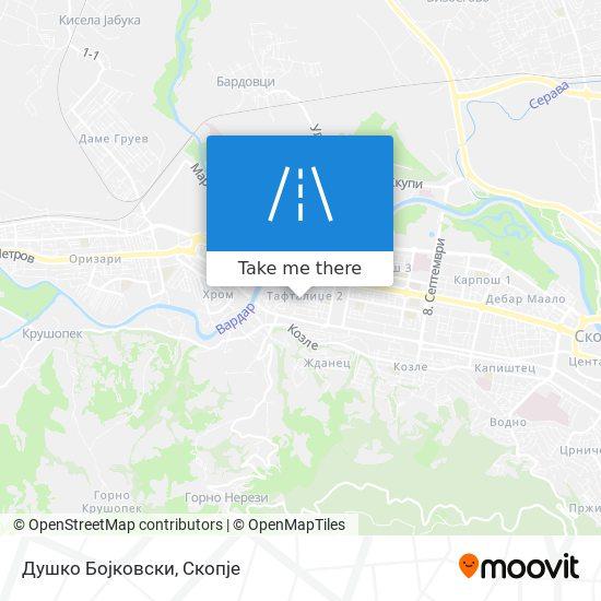 Душко Бојковски map