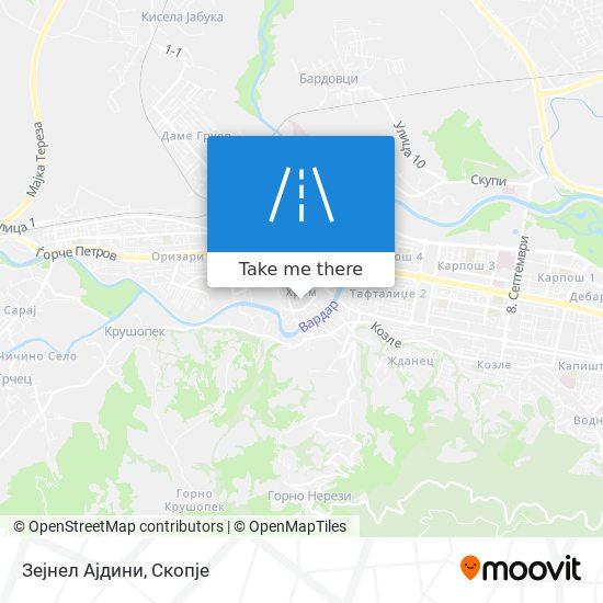 Зејнел Ајдини map