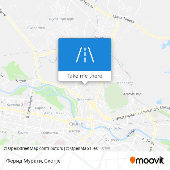 Ферид Мурати map