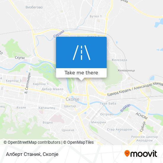 Алберт Станиќ map