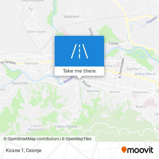 Козле 1 map