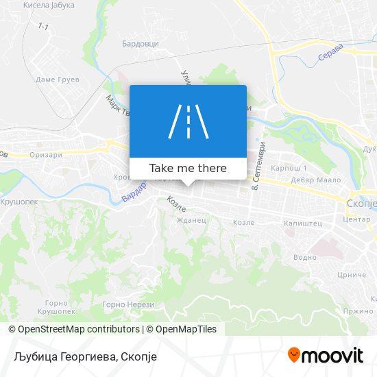 Љубица Георгиева map