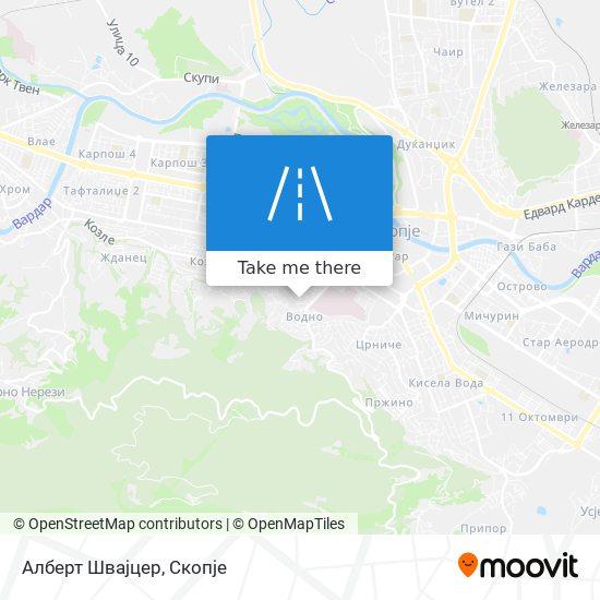 Алберт Швајцер map