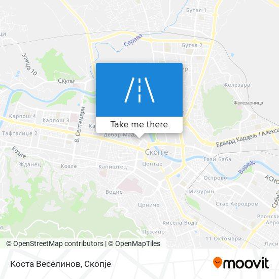 Коста Веселинов map