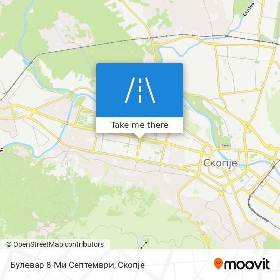 Булевар 8-Ми Септември map