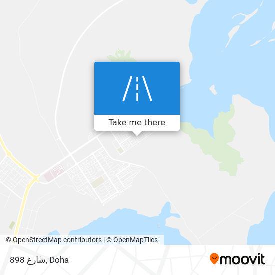شارع 898 map