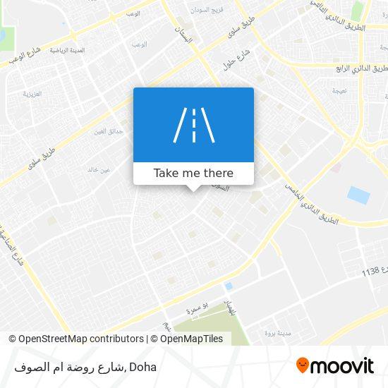 شارع روضة ام الصوف map