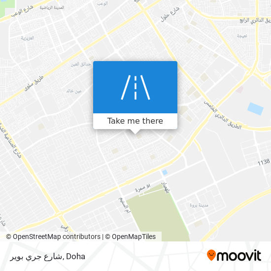 شارع جري بوير map