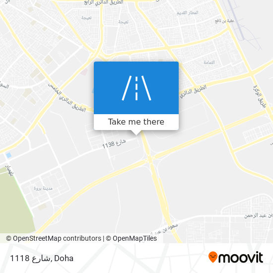 شارع 1118 map