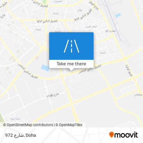 شارع 972 map