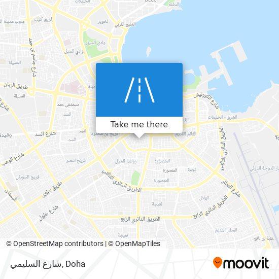 شارع السليمي map