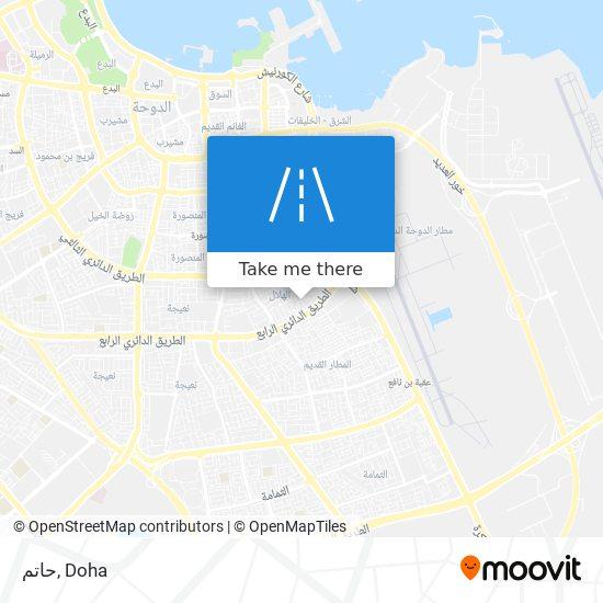 حاتم map
