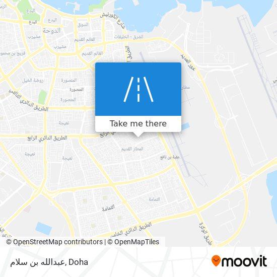 عبدالله بن سلام map