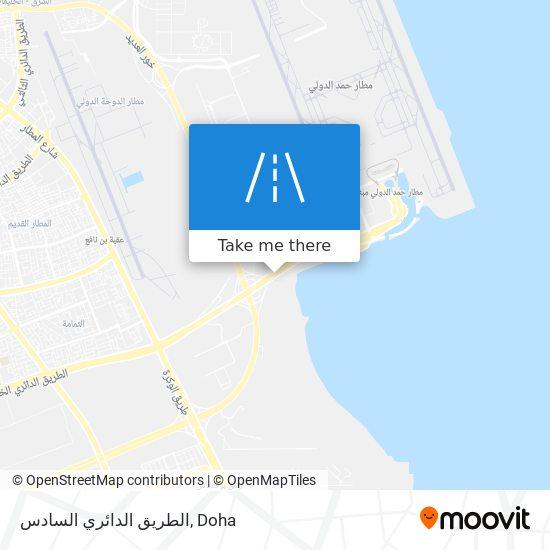 الطريق الدائري السادس map