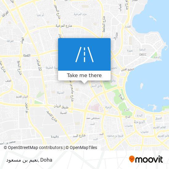 نعيم بن مسعود map