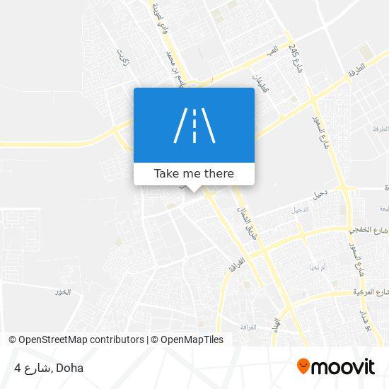 شارع 4 map