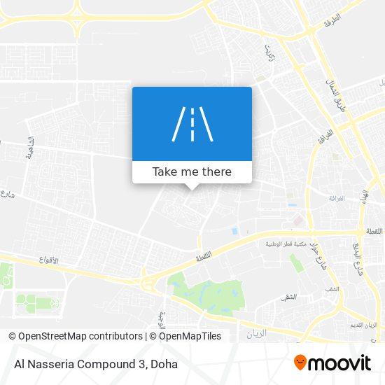 Al Nasseria Compound 3 map