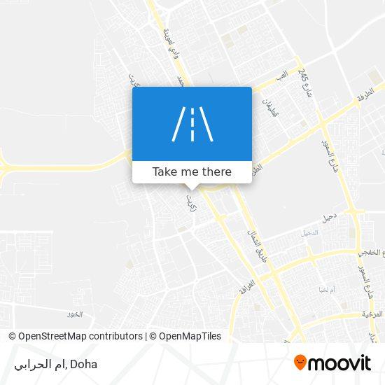 ام الحرابي map