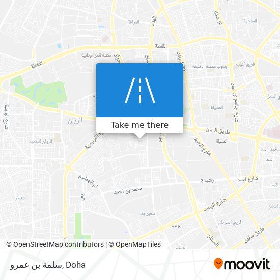 سلمة بن عمرو map