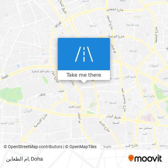 ام الظعاين map