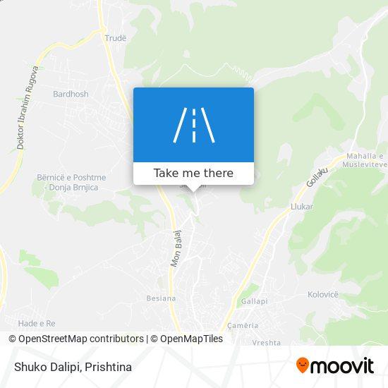 Shuko Dalipi map