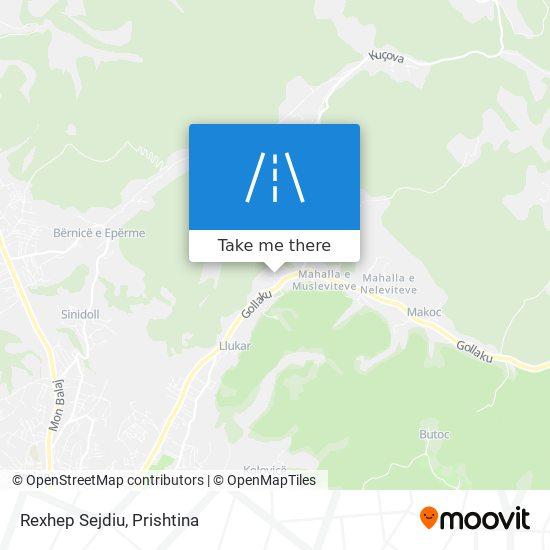 Rexhep Sejdiu map