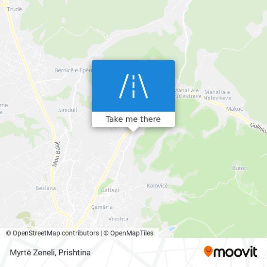 Myrtë Zeneli map
