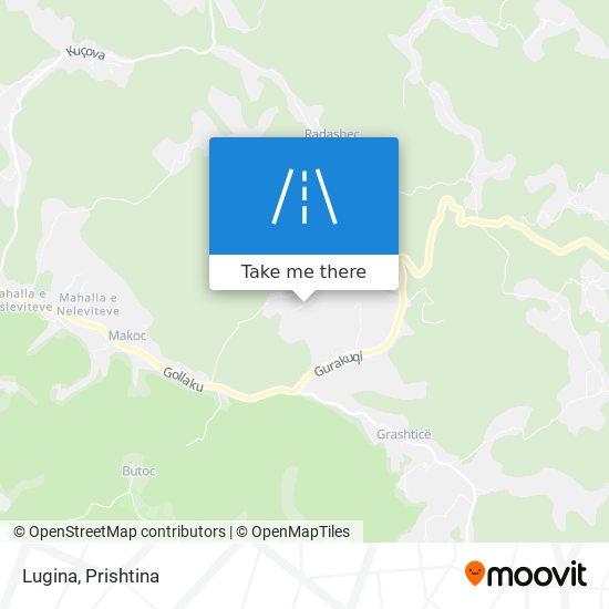 Lugina map
