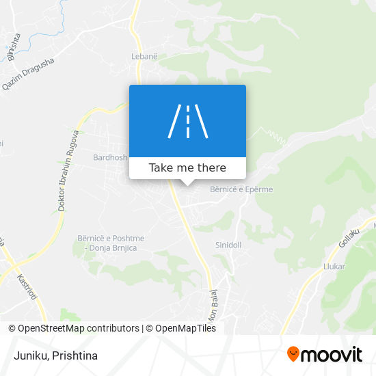 Juniku map
