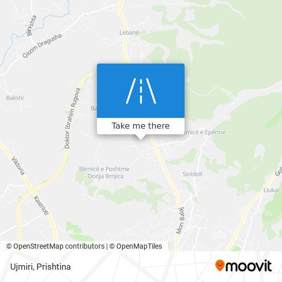 Ujmiri map