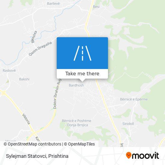 Sylejman Statovci map
