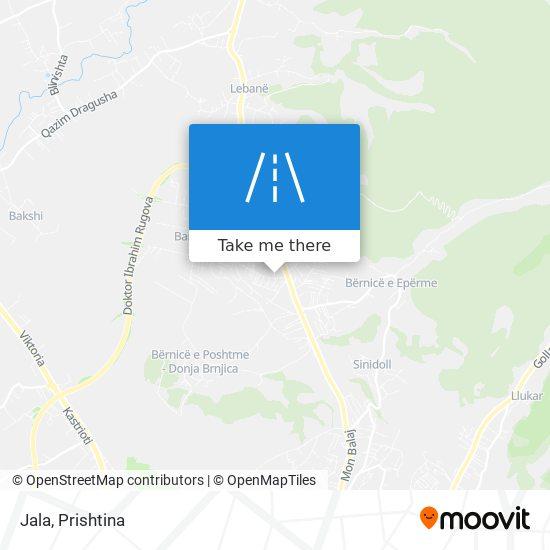 Jala map