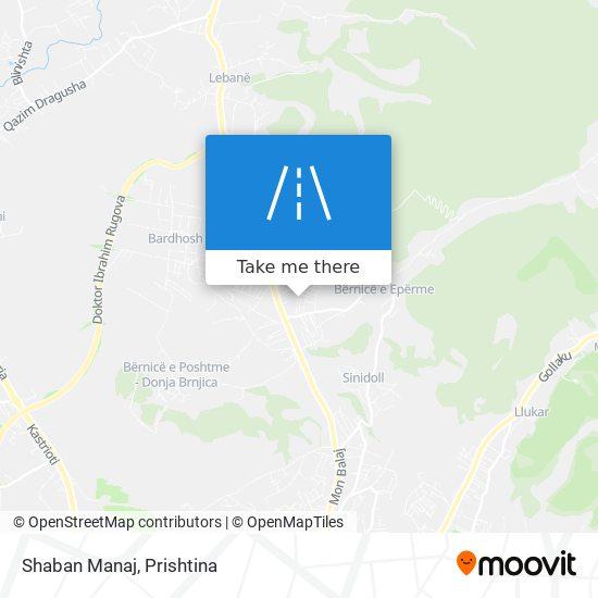 Shaban Manaj map