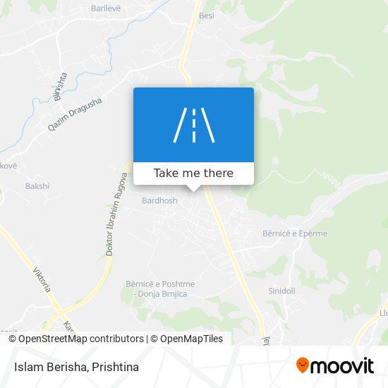 Islam Berisha map