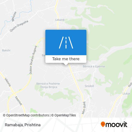 Ramabaja map