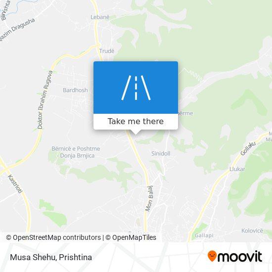 Musa Shehu map