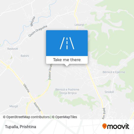 Tupalla map