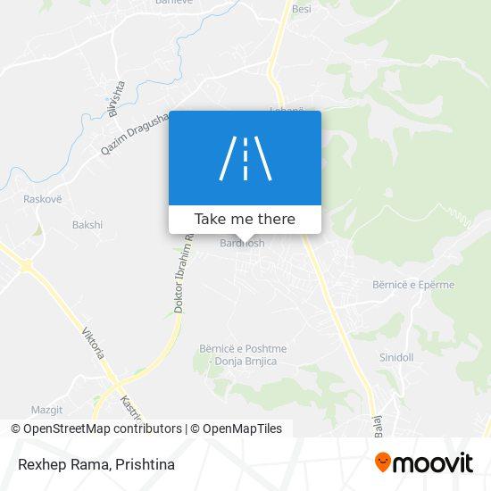 Rexhep Rama map