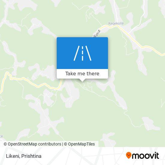 Likeni map