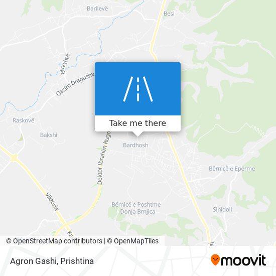 Agron Gashi map