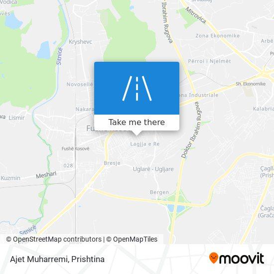 Ajet Muharremi map