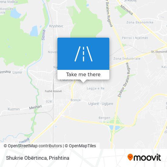 Shukrie Obërtinca map