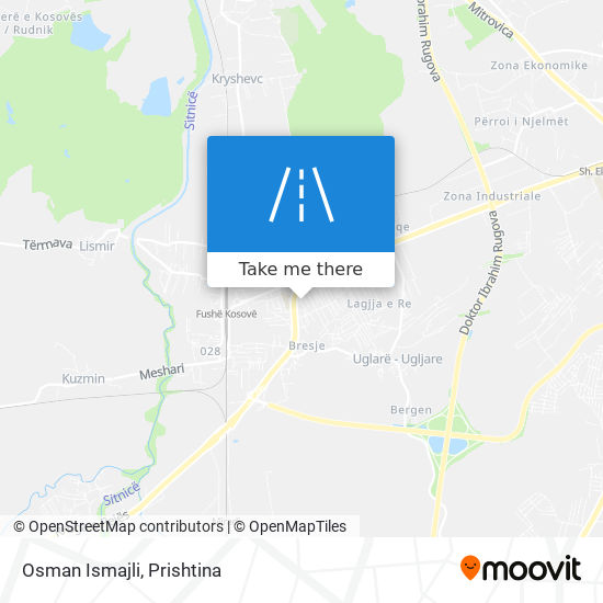 Osman Ismajli map