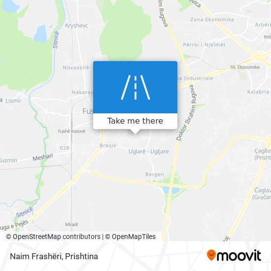 Naim Frashëri map