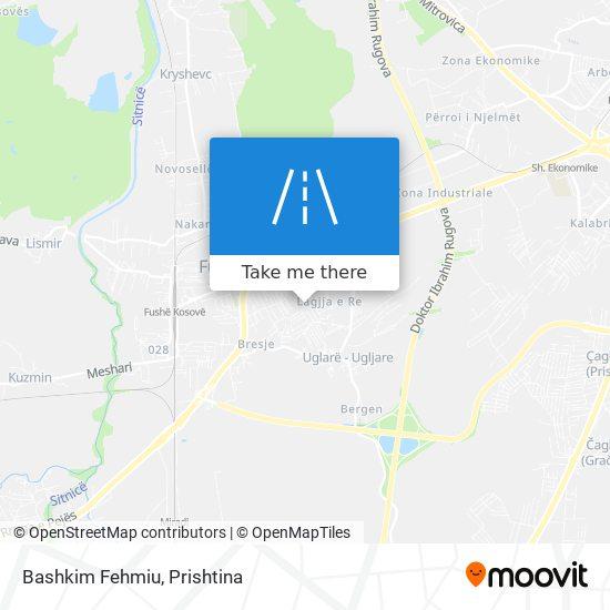 Bashkim Fehmiu map