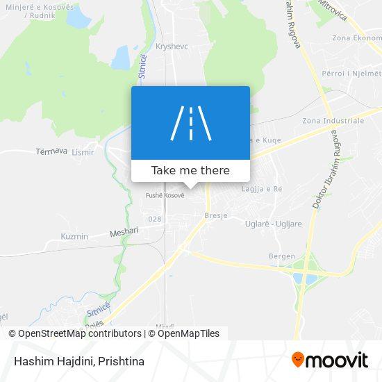 Hashim Hajdini map