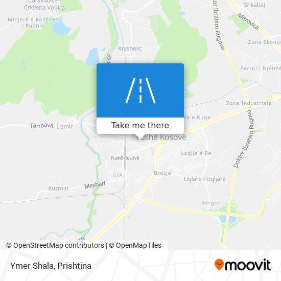 Ymer Shala map