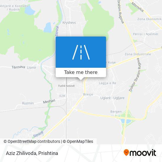 Aziz Zhilivoda map